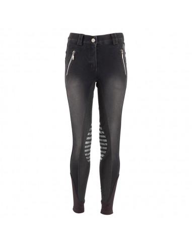 Girls Silver Zipped Breeches FLS