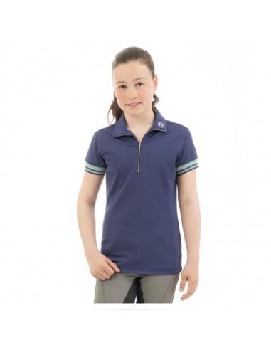 ANKY® Zip Polo Shirt Girls ATK201202